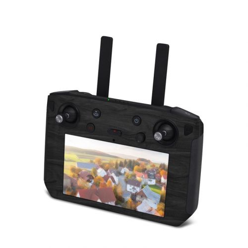 Black Woodgrain DJI Smart Controller Skin