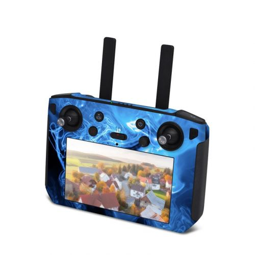 Blue Quantum Waves DJI Smart Controller Skin