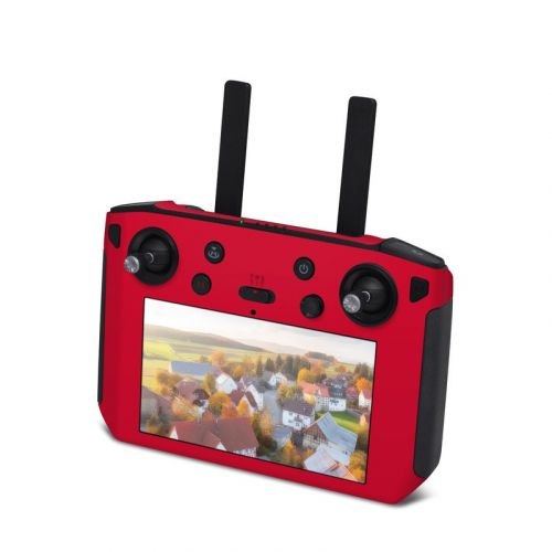Solid State Red DJI Smart Controller Skin