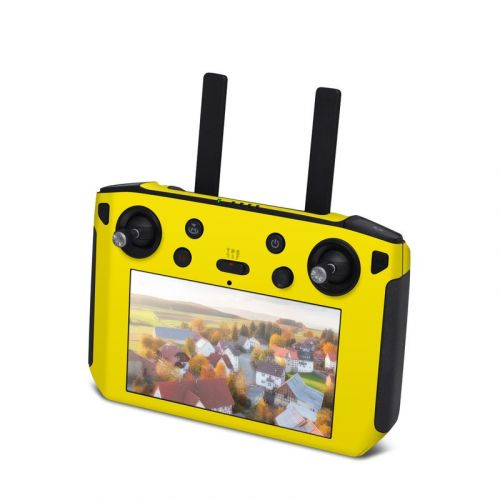 Solid State Yellow DJI Smart Controller Skin