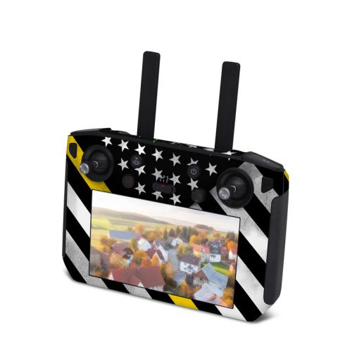 Thin Yellow Line Hero DJI Smart Controller Skin