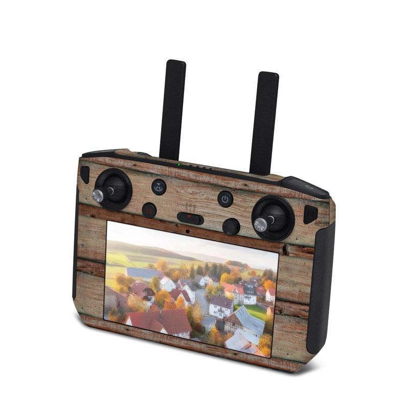 DJI Smart Controller Skin design of Wood, Wood stain, Plank, Lumber, Hardwood, Plywood, Pattern, Siding with brown colors