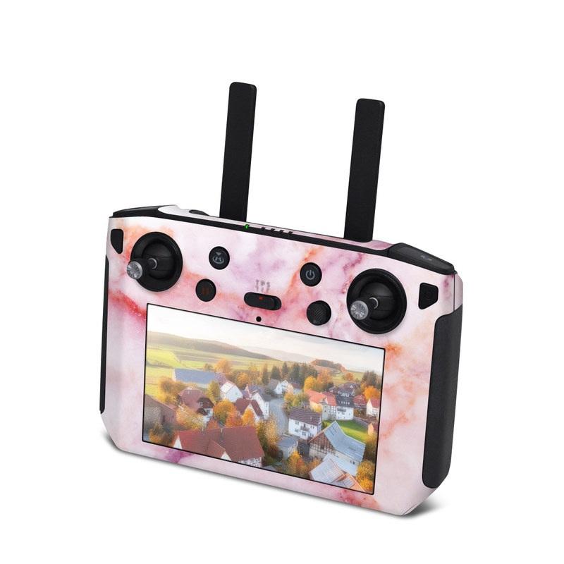DJI Smart Controller Skin design of Pink, Skin, Flesh, Textile, Fur with pink, red, white, purple, orange colors