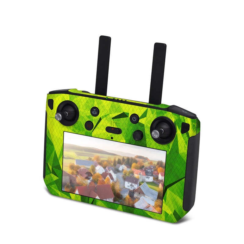 DJI Smart Controller Skin design with green colors