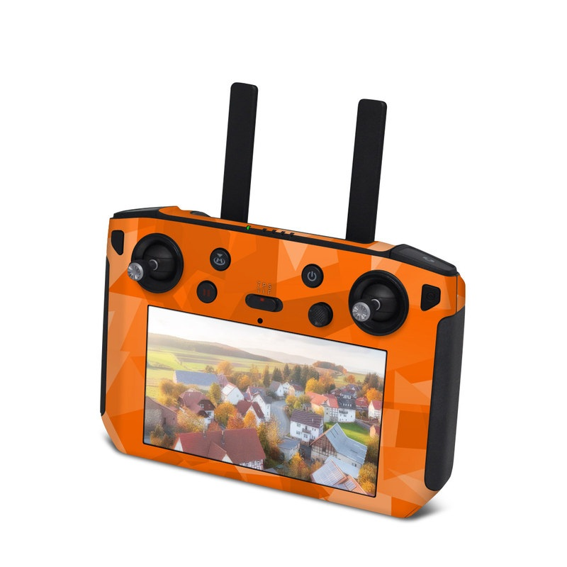 DJI Smart Controller Skin design with orange colors