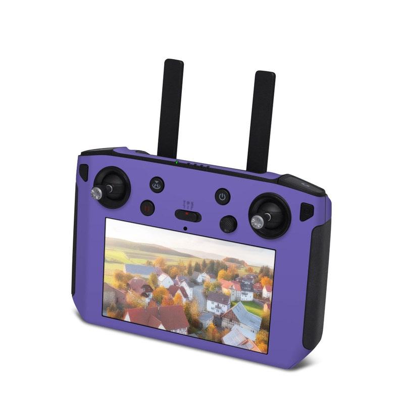 DJI Smart Controller Skin design of Blue, Violet, Sky, Purple, Daytime, Black, Lilac, Cobalt blue, Pink, Azure with purple colors