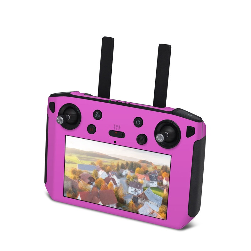 DJI Smart Controller Skin design of Violet, Pink, Purple, Red, Lilac, Magenta, Blue, Lavender, Text, Sky with pink colors
