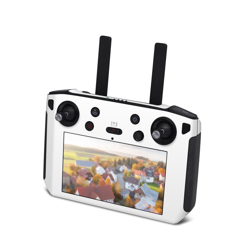 DJI Smart Controller Skin design of White, Black, Line with white colors