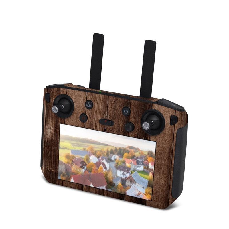 DJI Smart Controller Skin design of Wood, Brown, Wood stain, Plank, Hardwood, Wood flooring, Line, Pattern, Floor, Flooring with brown colors