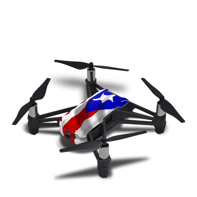 DJI Tello Skin design of Flag, Flag of the united states, Flag Day (USA), Veterans day, Independence day with red, blue, white colors