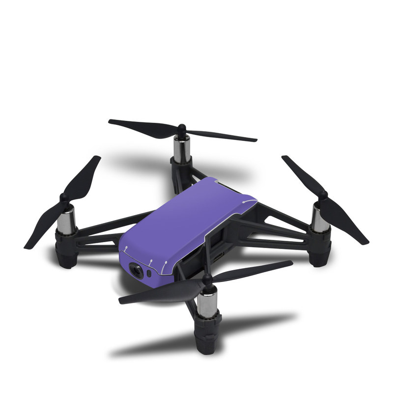 Solid State Purple DJI Tello Skin
