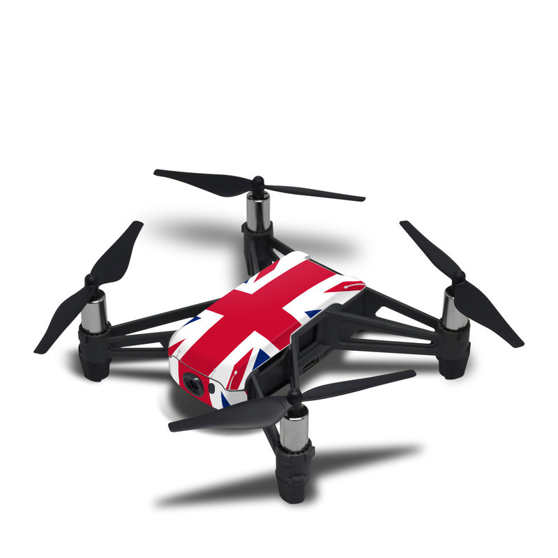DJI Tello Skin design of Flag, Red, Line, Electric blue, Design, Font, Pattern, Parallel, Flag Day (USA) with red, white, blue colors
