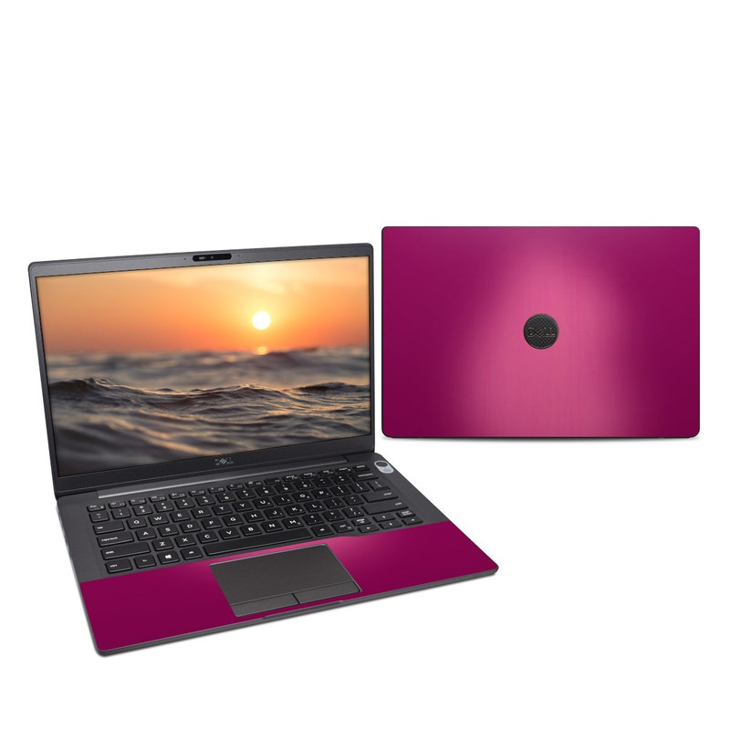 Dell Latitude 7400 Skin design of Pink, Violet, Red, Purple, Magenta, Lilac, Material property, Pattern with red, purple colors