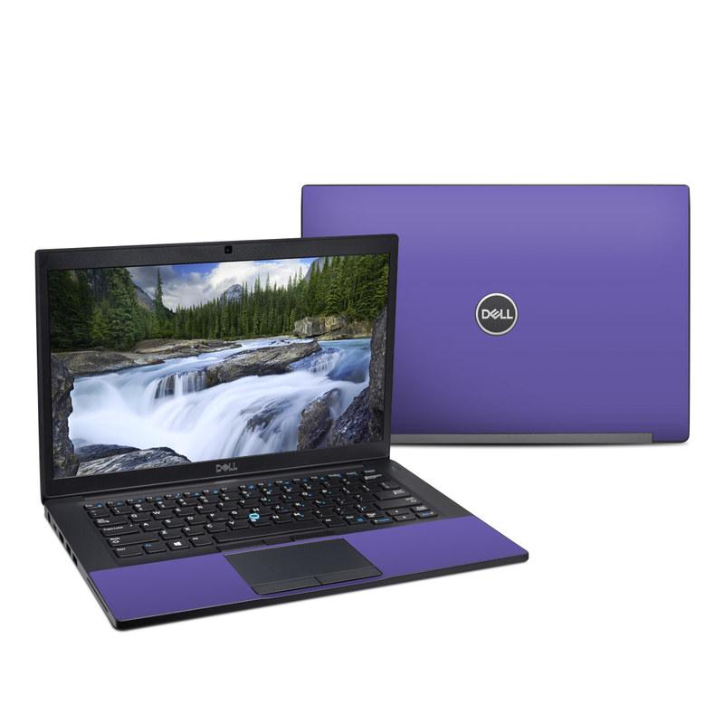 Dell Latitude 7490 Skin design of Blue, Violet, Sky, Purple, Daytime, Black, Lilac, Cobalt blue, Pink, Azure with purple colors