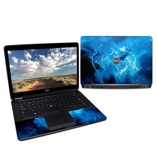 Blue Quantum Waves Dell Latitude E7450 Skin