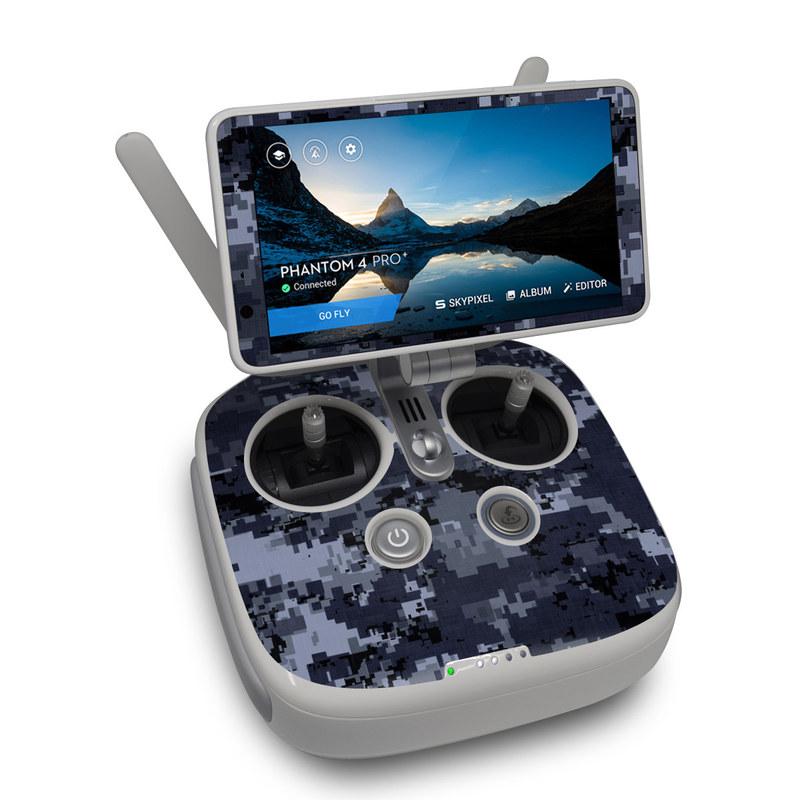 Digital Navy Camo DJI Phantom 4 Pro Plus Controller Skin
