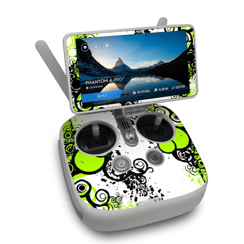 Simply Green DJI Phantom 4 Pro Plus Controller Skin
