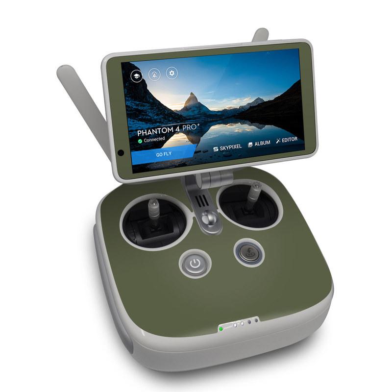 Solid State Olive Drab DJI Phantom 4 Pro Plus Controller Skin