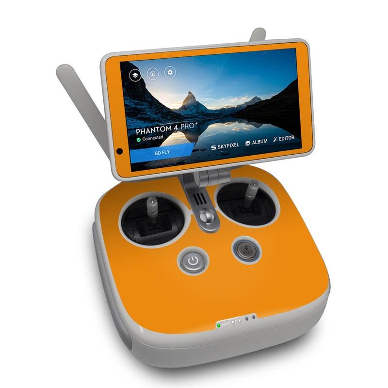 Solid State Orange DJI Phantom 4 Pro Plus Controller Skin