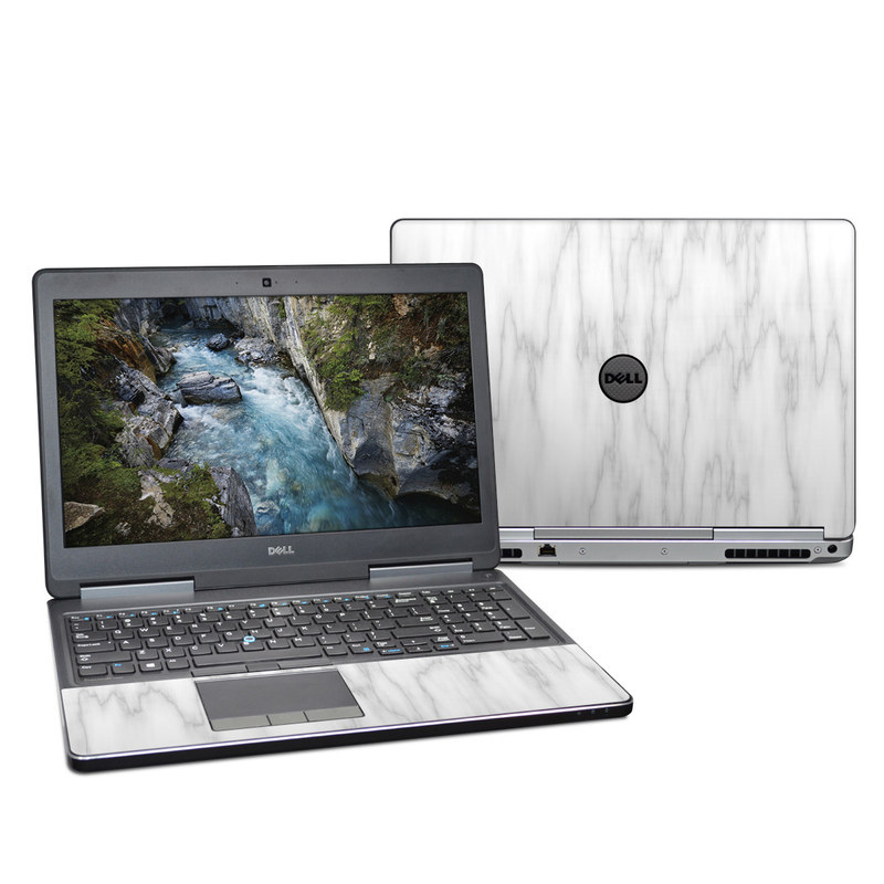 Dell Precision 7520 Skin design of White, Tree, Line, Black-and-white, Monochrome, Branch, Drawing, Plant, Forest, Twig with white, gray colors