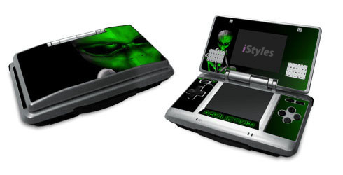 Alien Abduction Nintendo DS Skin