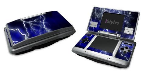 Apocalypse Blue Nintendo DS Skin