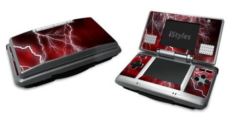Apocalypse Red Nintendo DS Skin
