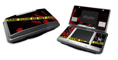 Crime Scene Nintendo DS Skin