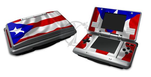 Puerto Rican Flag Nintendo DS Skin