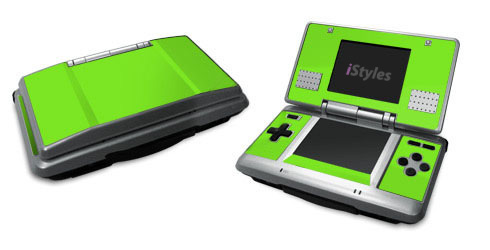 Solid State Lime Nintendo DS Skin