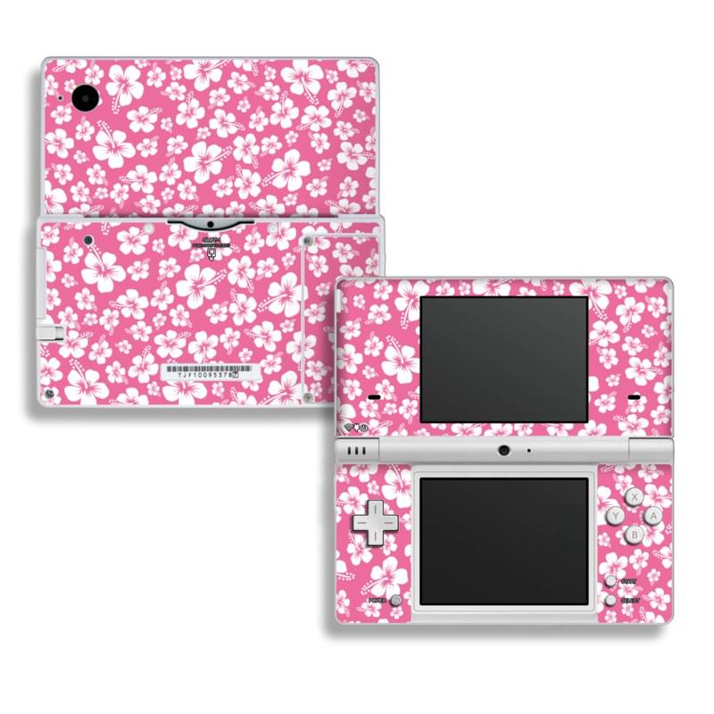 Aloha Pink Nintendo DSi Skin