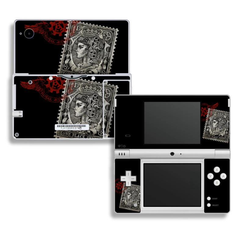 Black Penny Nintendo DSi Skin