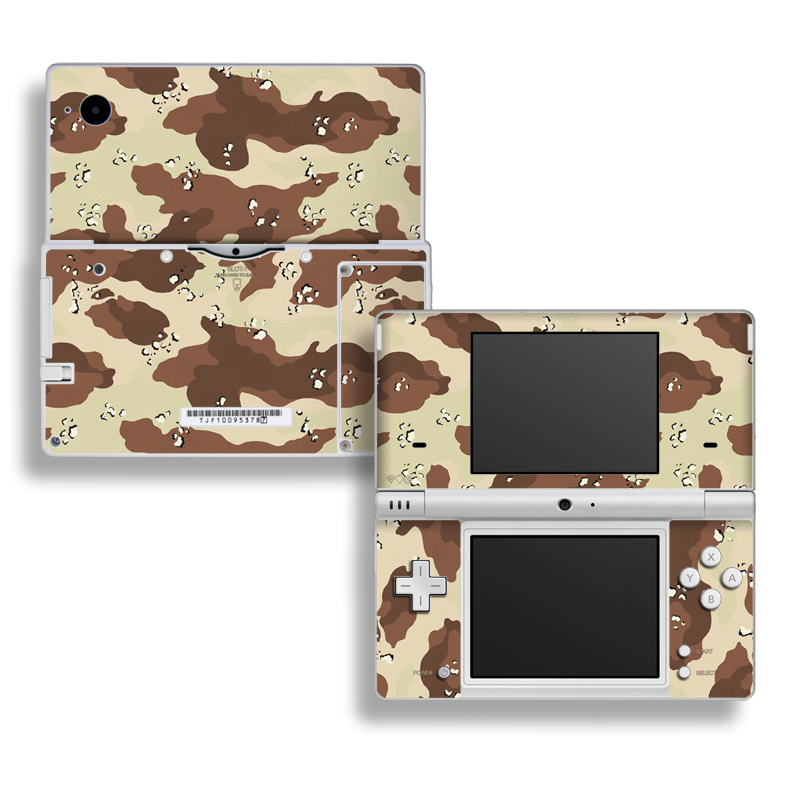 Desert Camo Nintendo DSi Skin