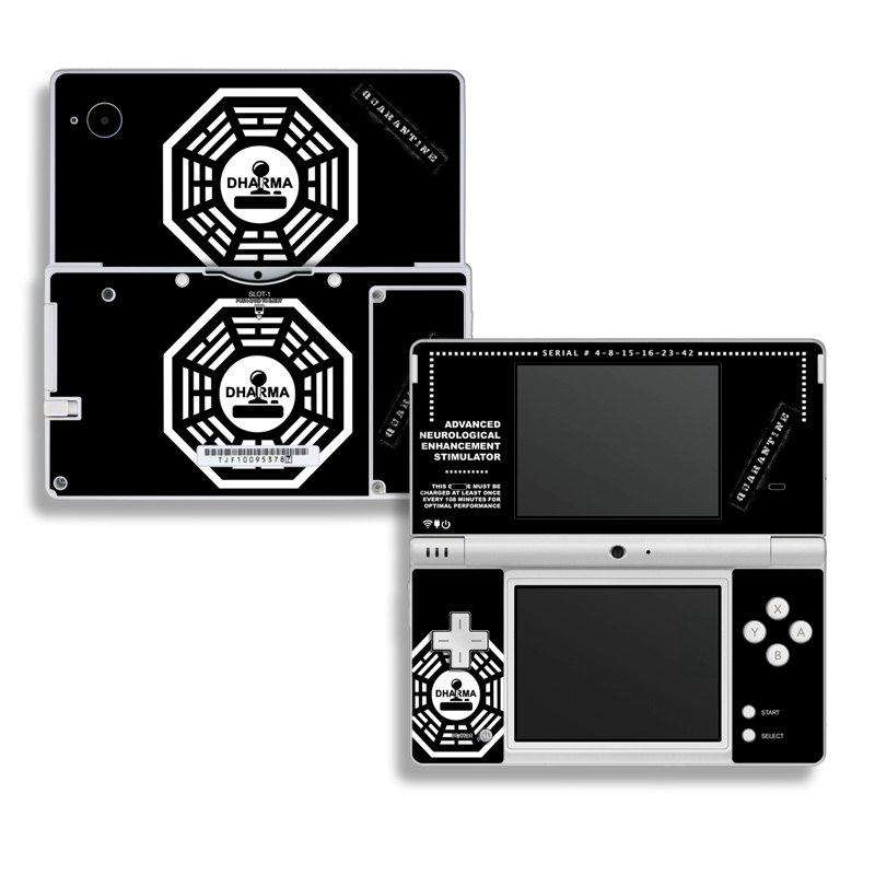 Dharma Black Nintendo DSi Skin