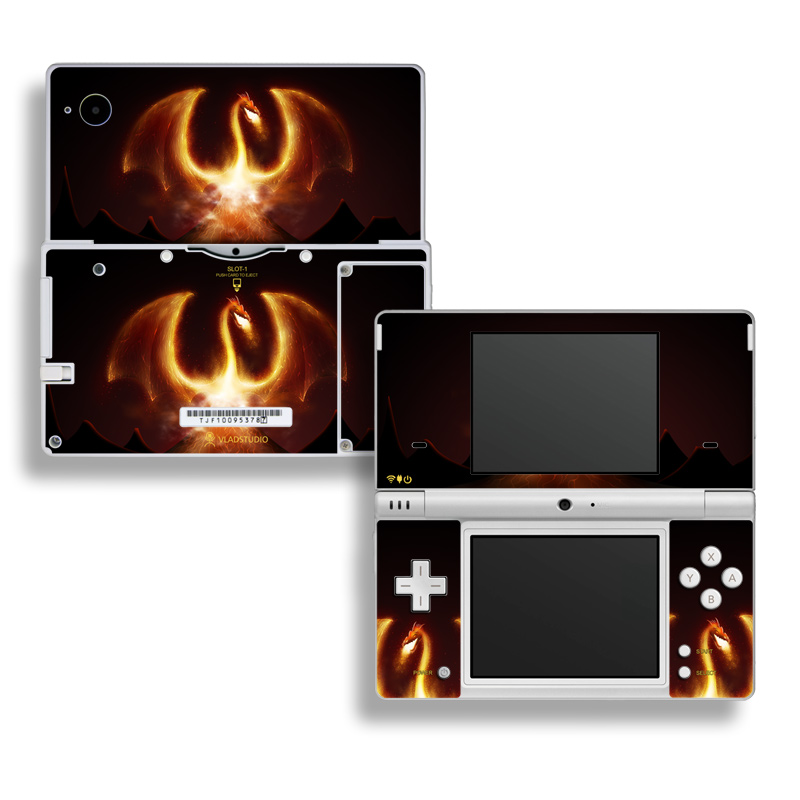 Fire Dragon Nintendo DSi Skin