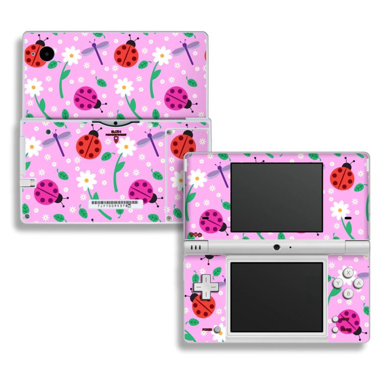 Ladybug Land Nintendo DSi Skin