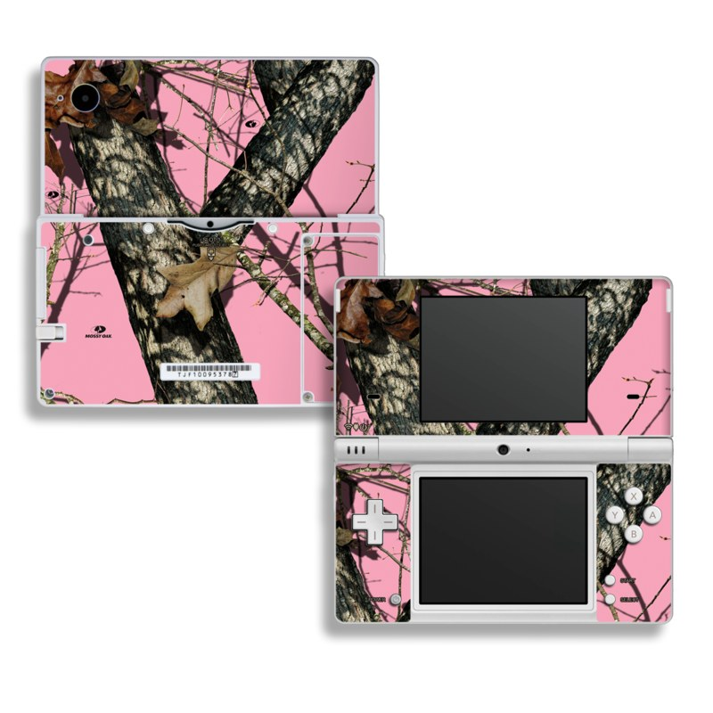 Break-Up Pink Nintendo DSi Skin