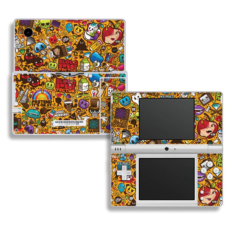 Psychedelic Nintendo DSi Skin