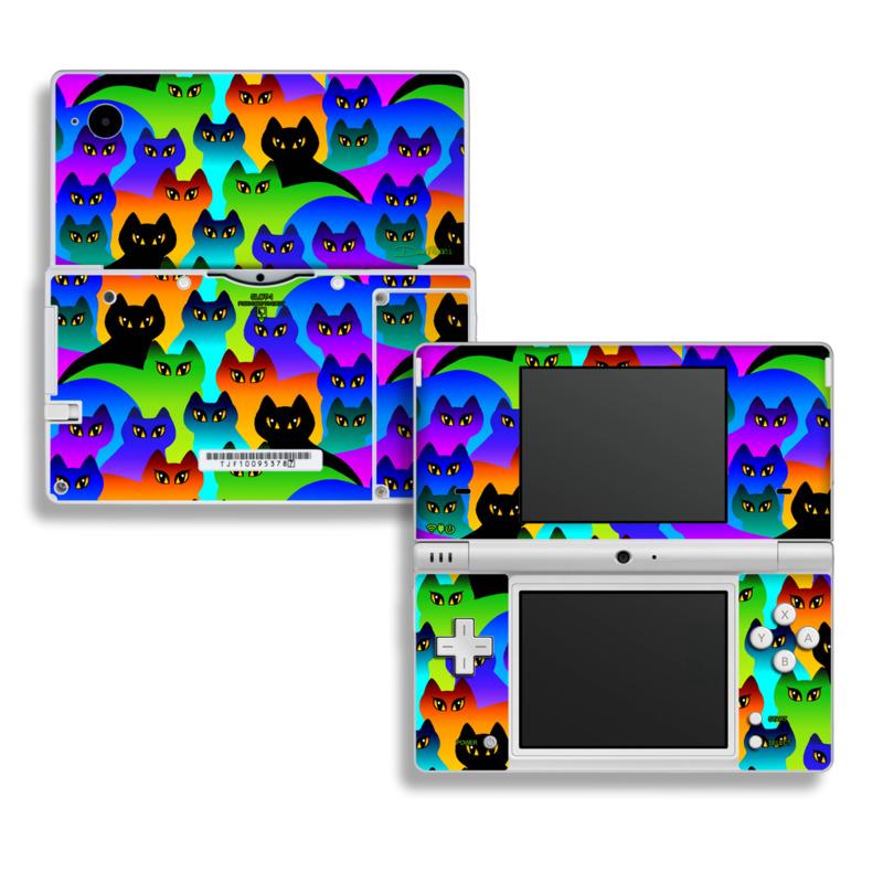 Rainbow Cats Nintendo DSi Skin