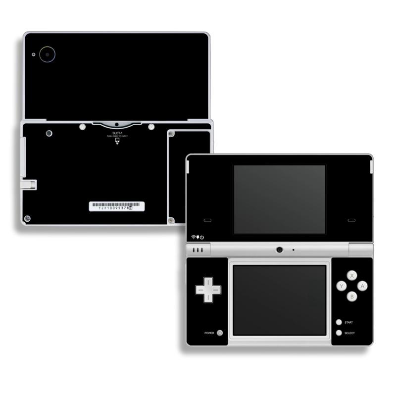Solid State Black Nintendo DSi Skin