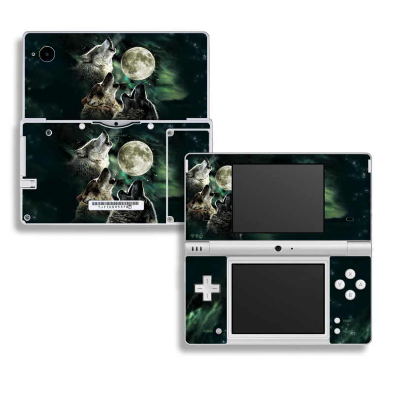 Three Wolf Moon Nintendo DSi Skin