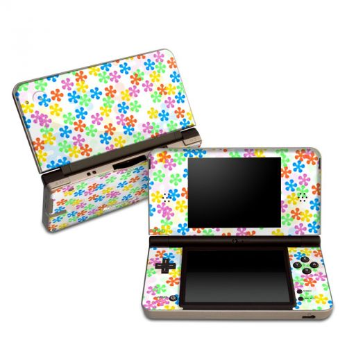 Flower Power Nintendo DSi XL Skin