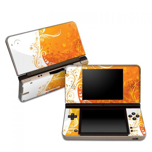 Orange Crush Nintendo DSi XL Skin