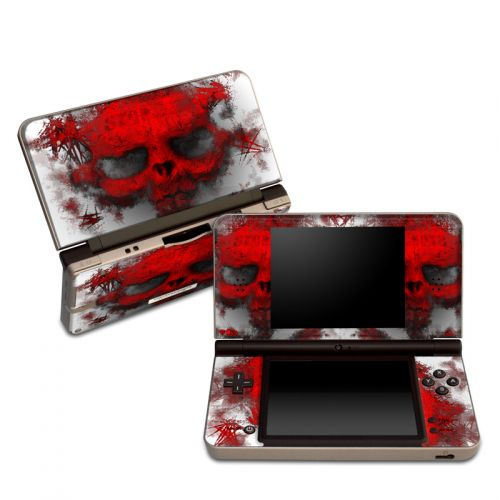 War Light Nintendo DSi XL Skin