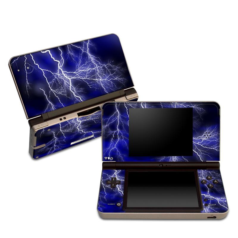Apocalypse Blue Nintendo DSi XL Skin