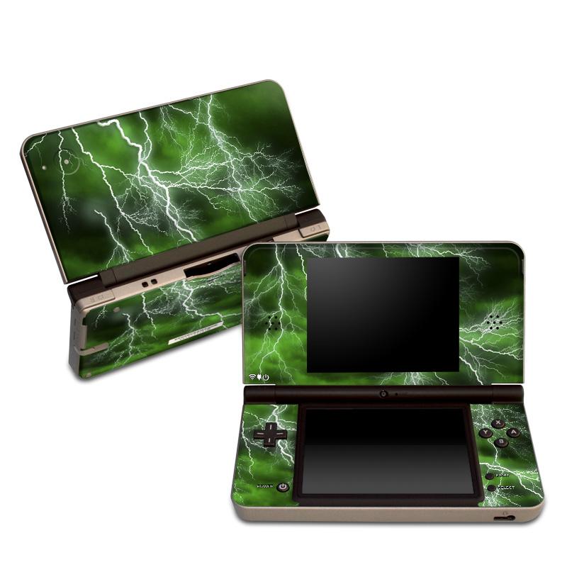 Apocalypse Green Nintendo DSi XL Skin