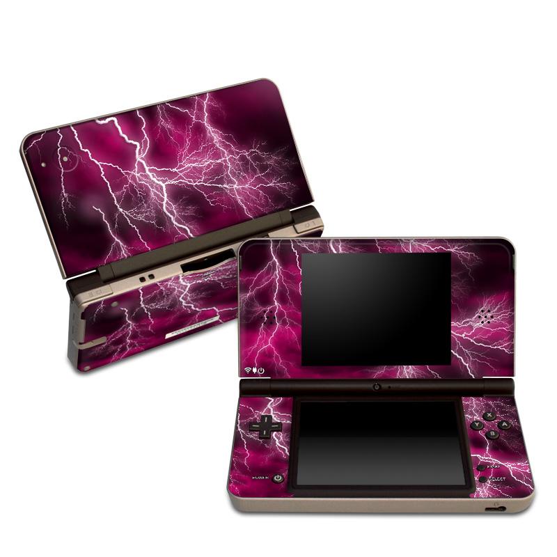 Apocalypse Pink Nintendo DSi XL Skin