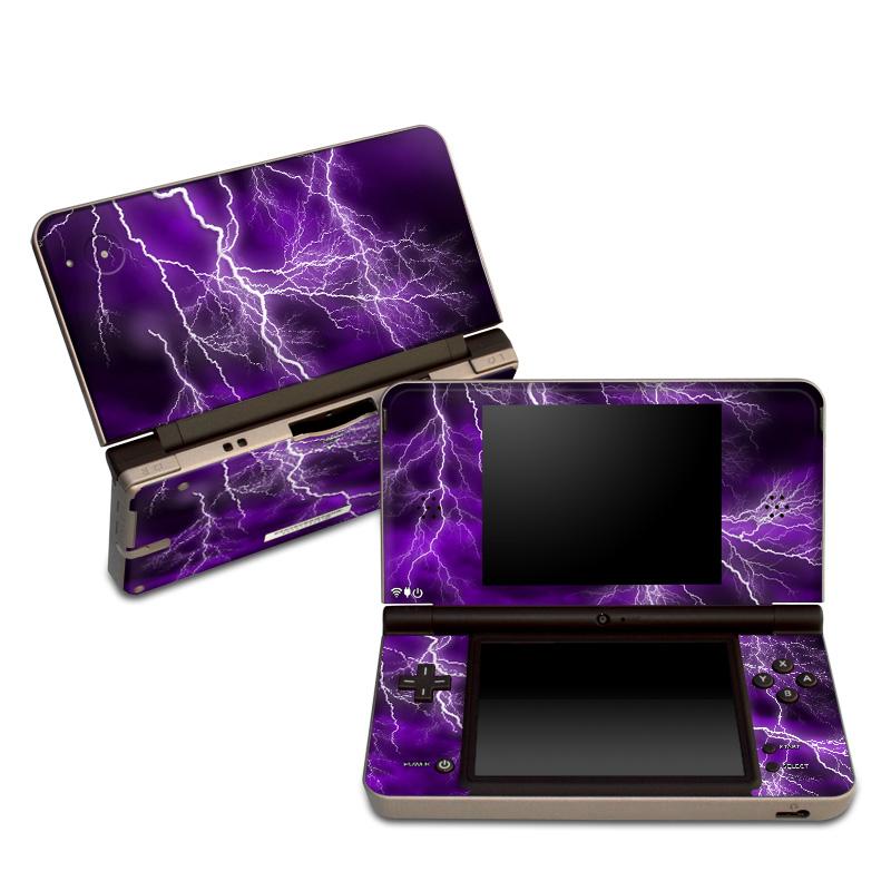 Apocalypse Violet Nintendo DSi XL Skin