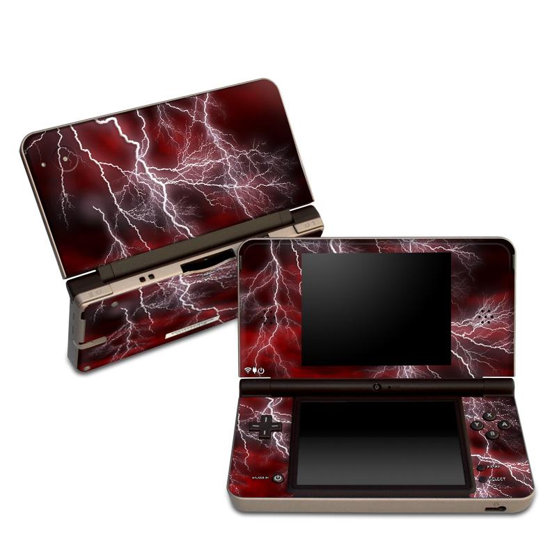 Apocalypse Red Nintendo DSi XL Skin