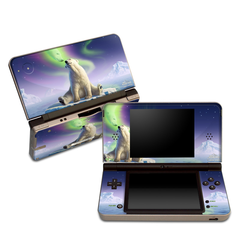 Arctic Kiss Nintendo DSi XL Skin